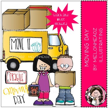 Moving Day clip art - Mini - by Melonheadz