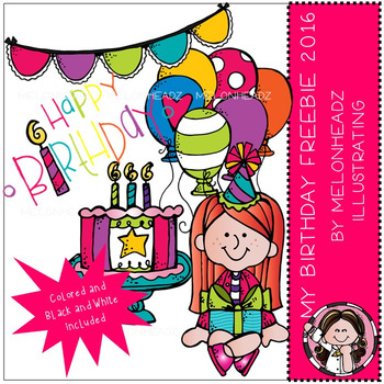 Melonheadz: My Birthday Freebie clip art