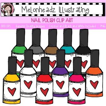 Melonheadz: Nail Polish clip art - Single Image