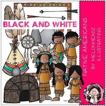 Melonheadz: Native Americans BLACK AND WHITE