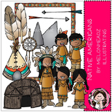 Native Americans clip art - COMBO PACK - by Melonheadz