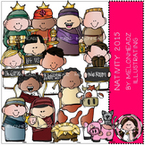 Nativity clip art 2015 - Lil Bitz - COMBO PACK - by Melonheadz