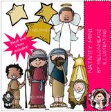 Nativity clip art - Mini - by Melonheadz