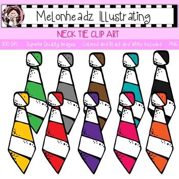 Melonheadz: Necktie clip art - Single Image