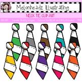 Necktie clip art - Single Image - by Melonheadz