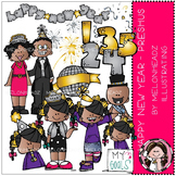Melonheadz: New Year clip art - Preshus - COMBO PACK