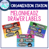 Melonheadz Organizing Drawer Labels