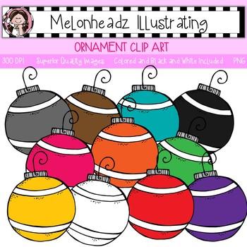 Melonheadz: Ornament clip art - Single Image