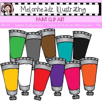 Melonheadz: Paint clip art - Single Image