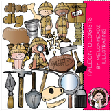 Paleontologists clip art - COMBO PACK - by Melonheadz