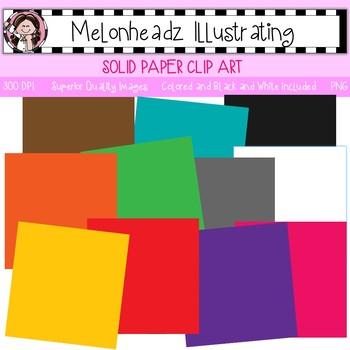 Melonheadz: Paper clip art - Solid - Single Image