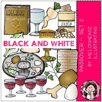 Melonheadz: Passover clip art - Part 2 - Black and White