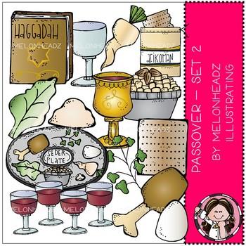 Melonheadz: Passover clip art - Set 2