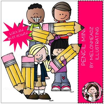 Melonheadz: Pencil clip art Mini set