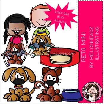 Melonheadz: Pets clip art Mini Set