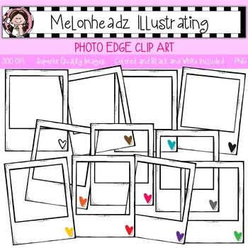 Melonheadz: Photo Edge clip art - Single Image