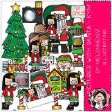 Pictures with Santa clip art - Kym - by Melonheadz