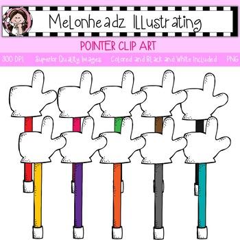 Melonheadz: Pointer clip art - Single Image