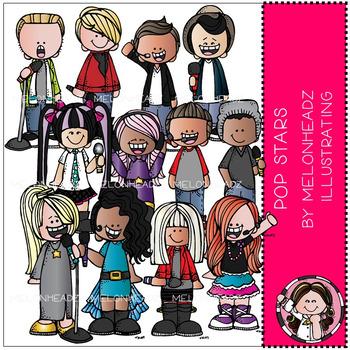 Pop Stars clip art - COMBO PACK - by Melonheadz