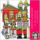 Santa's Workshop clip art - by Melonheadz