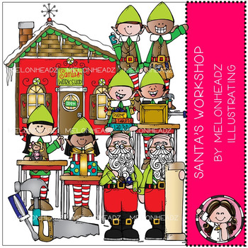 Melonheadz: Santa's Workshop clip art - COMBO PACK
