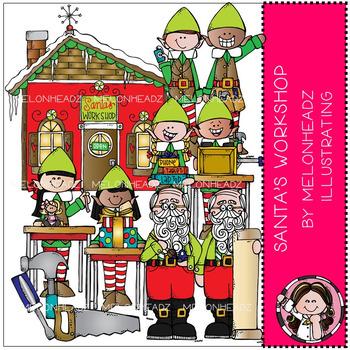 Melonheadz: Santa's Workshop clip art - COMBO PACK