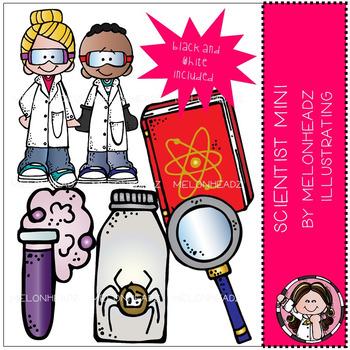 Melonheadz: Scientist clip art Mini set