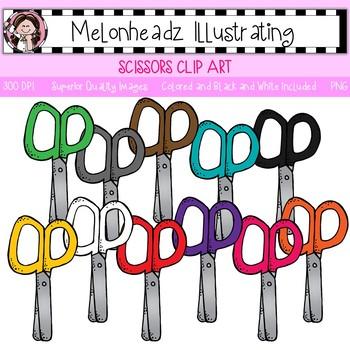 Melonheadz: Scissors clip art - Single Image