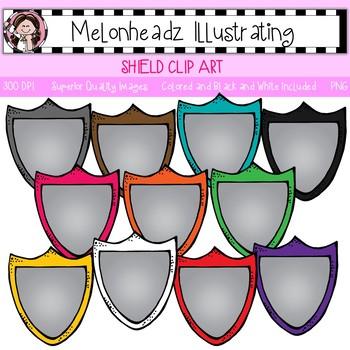 Melonheadz: Shield clip art - Single Image