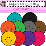 Smiley Face clip art - Single Image - by Melonheadz