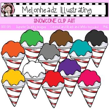 Snowcone clip art - Single Image - by Melonheadz