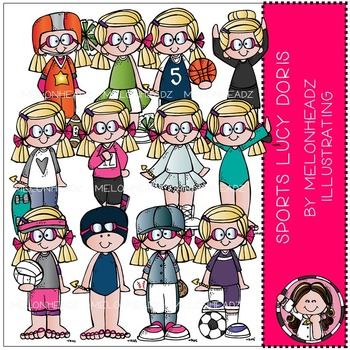 Melonheadz: Sports Lucy Doris COMBO PACK