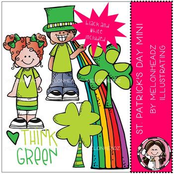 Melonheadz: St. Patrick's Day clip art Mini set