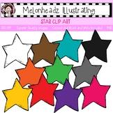 Star clip art - Single Image - by Melonheadz