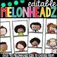 Editable Melonheadz Student Tags