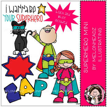 Superhero clip art - Mini - by Melonheadz