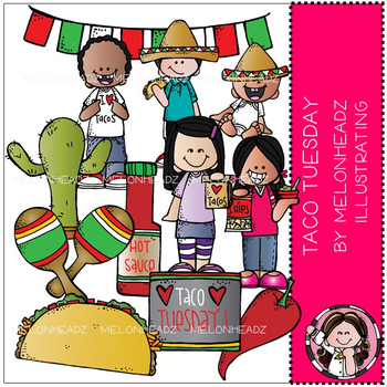 Melonheadz: Taco Tuesday clip art