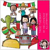 Taco Tuesday clip art - COMBO PACK - by Melonheadz