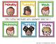 Melonheadz Teacher Supply Organizer Bin Labels