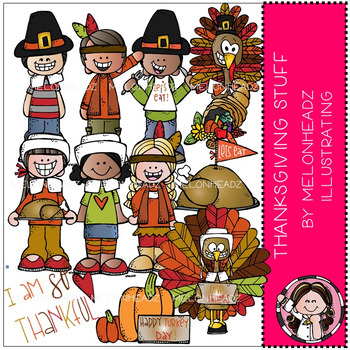 Melonheadz: Thanksgiving Stuff clip art - COMBO PACK