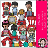Time Out clip art - COMBO PACK - by Melonheadz