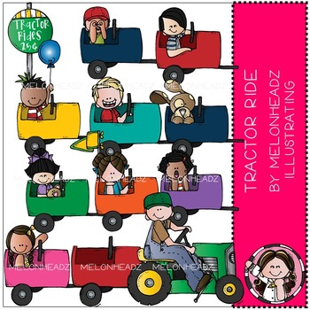 Tractor Ride clip art - by Melonheadz