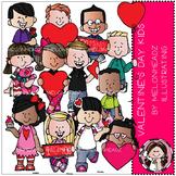 Valentine's Day clip art - Kids - COMBO PACK - by Melonheadz