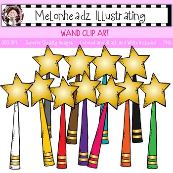 Wand clip art - Single Image - by Melonheadz
