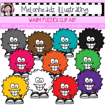 Melonheadz: Warm Fuzzies clip art - Single Image