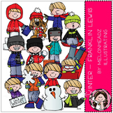 Melonheadz: Winter clip art - Franklin Lewis - COMBO PACK