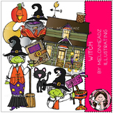 Witch clip art - COMBO PACK - by Melonheadz