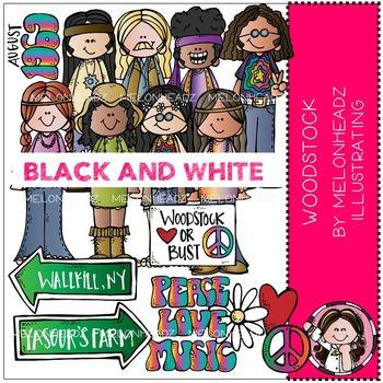 Melonheadz: Woodstock BLACK AND WHITE