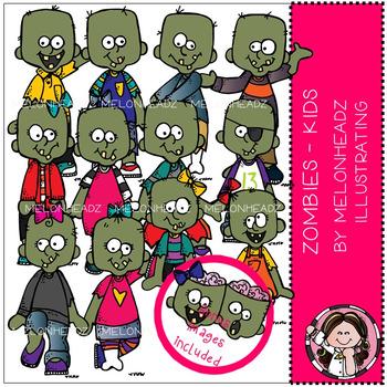 Zombies clip art - Kids - by Melonheadz