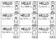 Melonheadz lanyard name tags inserts